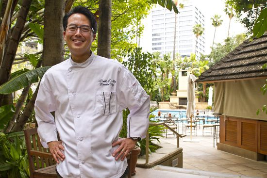 Chef's Corner with Chef David Man, Palm Terrace at Island Hotel