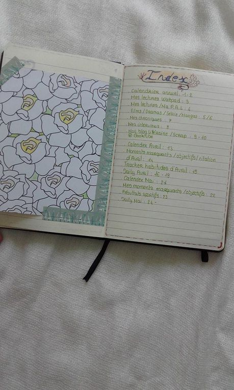 Mon Bullet Journal + Explications