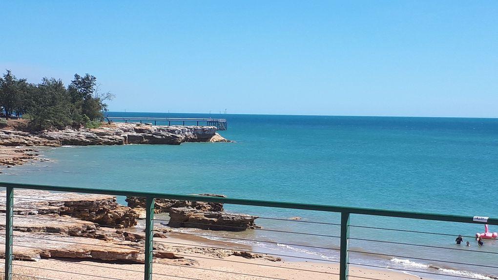 Arrivée à Darwin et quelques photos du front de mer