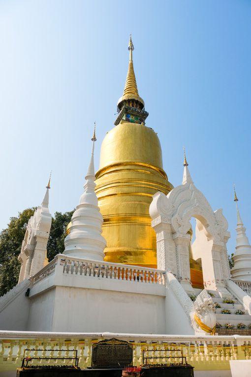 Wat Suan Dok et Wat Doi Suthep (cliquez pour dérouler)