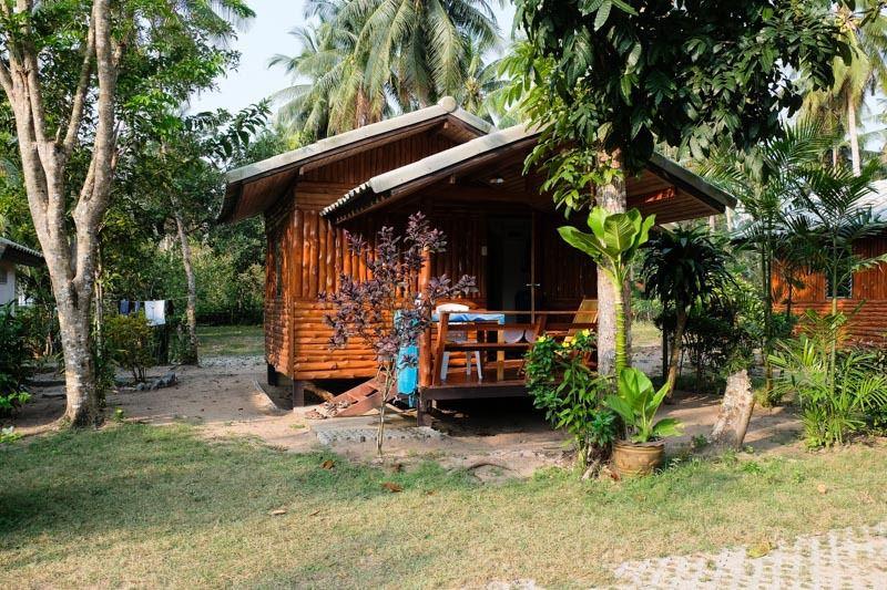 """Notre bungalow au """"Proudthaï resort"""" (cliquez pour dérouler)"""