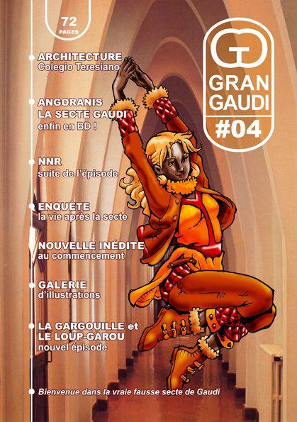 Couvertures du fanzine Gran Gaudi