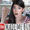 YOUTUBE Made Me Buy It! Beauty Products I Purchased...