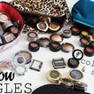 Single Eye Shadow Makeup Collection & Storage! 2017