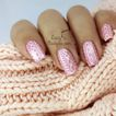 3D Cable Knit Nails With Bio Seaweed Gel + TUTORIAL