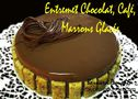 ENTREMET CHOCOLAT CAFE MARRONS GLACES