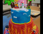 Gâteau Dragon Ball