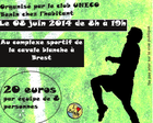 Tournoi de football solidaire!
