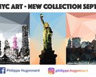 LOW POLY NYC ART - COLLECTION DESIGN 2016