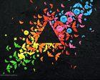 Origamis colorés