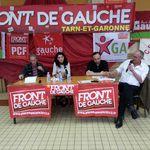 Le Front de gauche en meeting à la Maison du peuple