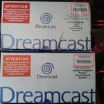 Les packs dreamcast PAL sortis en France