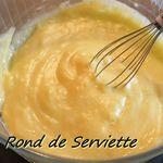 Crème patissière au micro-onde
