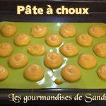 La pâte à choux ~ base de recette sucrée ou salée