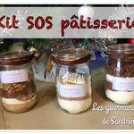 Kit SOS pâtisserie ~ SOS cookies ~ SOS muffins ~ SOS brownie