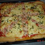 pizza thon surimi fromage