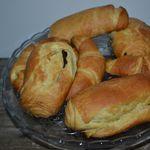 """Croissant et pain au chocolat """"pur beurre"""""""