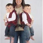 Le porte bébé double