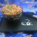 Ramen a la viande et aux légumes