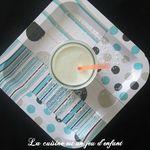 Milkshake banane-coco