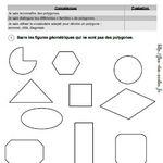 évaluation les polygones CM1