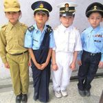 Very Beautiful and Cute Kids - Paksitani Forces