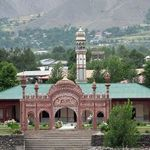 Beautiful Mosque in Chitral