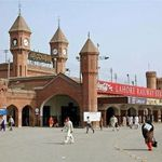 Busy Railway Station Lahore
