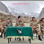 Chief of Army Staff General Kiyani in Gyari Sector