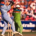 Javed Miandad in Action