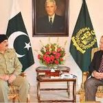 Prime Minister Nawaz Sharif and Chief of Army Staff Raheel Sharif