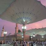 Beautiful Prophet Mosque Medinah