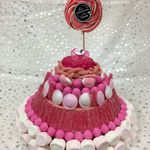 Candy cake pour babyshower