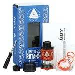 Test - Reconstructible - Limitless RDTA Plus de chez Ijoy