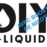 Comment faire simplement son e liquide en DIY (TPD ready) avec booster de nicotine