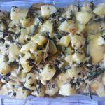 gratin filets de poisson et légumes