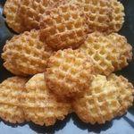 sablés gaufrés à la noix de coco      صابلي بالكوك