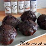 Muffins atomiques au chocolat