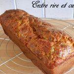 Cake salé Courgettes/Poulet/Colombo/Comté