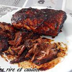 Pulled pork ou Porc effiloché à l'américaine
