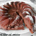 Moelleux chocolat / ricotta