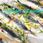 Sardines en Croûte de Polenta