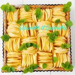 Tarte Amandine aux Pommes à la Menthe Réglisse