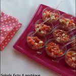 Salade feta & pastèque