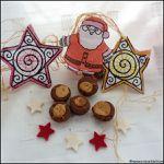 Karamell-Plätzchen - Petits gâteaux chocolat et caramel