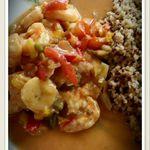 Curry de Crevettes en Sucré Salé au Cook'in
