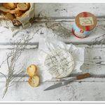 Camembert aux herbes de Provence rôti au four