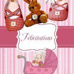 Carte félicitation naissance