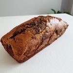 Cake marbré aux noix