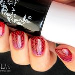 Gradient nail & Stamping Graphique